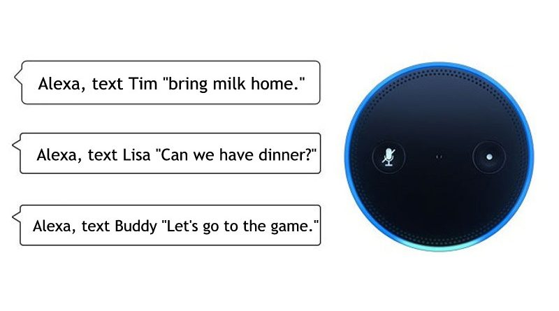 Alexa Can Send SMS Text Messages Now – On Android